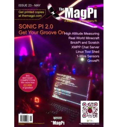 The MagPi Raspberry Pi Blad PDF - Udgave 23