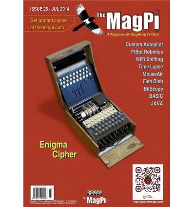 The MagPi Raspberry Pi Blad PDF - Udgave 25