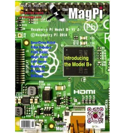 The MagPi Raspberry Pi Blad PDF - Udgave 26