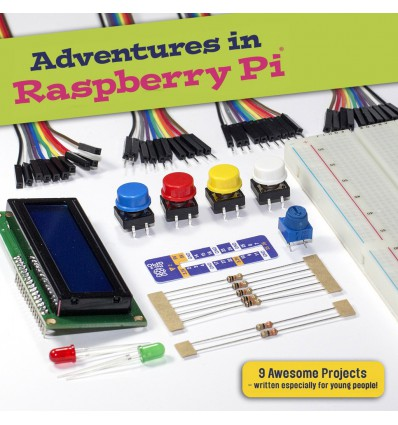Adventures in Raspberry Pi - Parts Kit