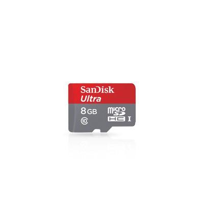 SanDisk 8GB microSDHC-kort UHS-I Class10