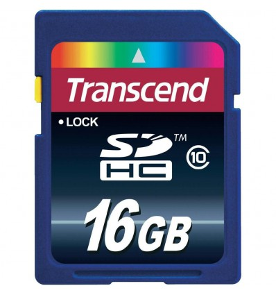Transcend 16GB SDHC-kort Class10