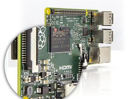 Produktnyhed - Raspberry Pi 2 Model B 1GB Ram